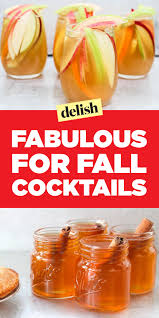 easy thanksgiving drinks 30 easy fall cocktails best recipes for fall alcoholic drinks