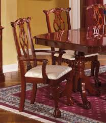 traditional dining room sets finish traditional dining room w pedestal table