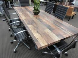 dark wood conference table awesome washington executive within reclaimed wood conference table