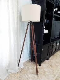 tripod floor l wooden legs i love l do or diy
