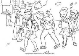 coloring page school school colouring pages