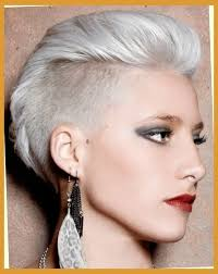 haircuts for woemen shaved one side long the other female hairstyle shaved one side hairstyles pictures