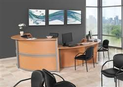 Two Person Reception Desk Office Anything Furniture Blog Office Design Ideas Cool