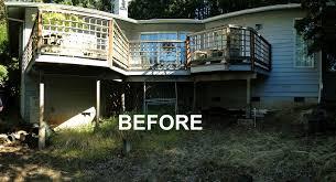 modern aluminum deck design and build general contractors in