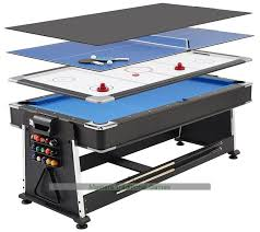 snooker table tennis table 7ft 3 in 1 revolver pool air hockey table tennis table