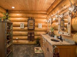 home decor stunning rustic log cabin style home design with