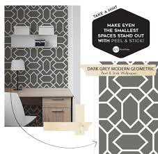Peel And Stick Wallpaper by 6 Unique And Easy Ways To Use Peel And Stick Wallpaper Roommates