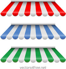 Red And White Striped Awning Awning Vector Free Vector Download 6 Free Vector For Commercial