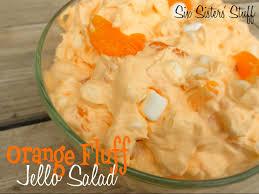 orange fluff jello salad recipe six stuff