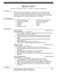 The Best Resume Sample by Software Developer Resume Template Berathen Com