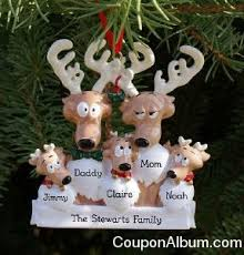 delayniva personalized family ornaments