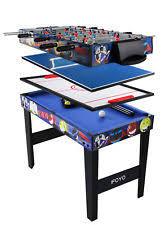 4 in 1 pool table 4 in 1 game table ebay