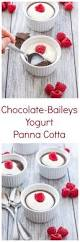 chocolate baileys yogurt panna cotta recipe runner