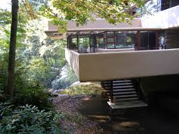 Frank Lloyd Wright Falling Water Interior Fallingwater Unique House Of The Week
