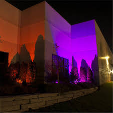 50w floodlight rgb led flood light outdoor landscape garden lamp