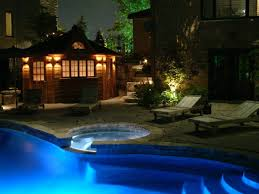 Pool Landscape Lighting Ideas Luxury Residential Landscape Lighting Design With Outdoor