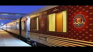 maharajas express train maharaja express a luxurious interior view youtube