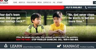 Singapore Meme - singapore puts new spin to mocked anti gambling ad