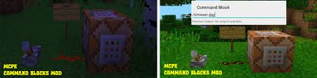 mc pe apk command blocks mod mcpe apk version 1 15