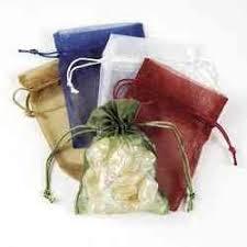 mesh gift bags medium sheer mesh drawstring gift bags 1 dozen