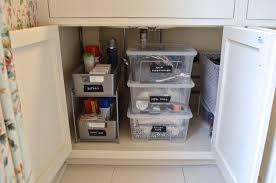 under bathroom sink storage kitchen room under the sink storage solution loldev