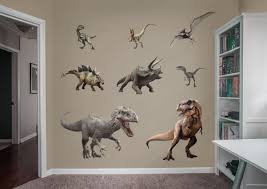 jurassic world dinosaurs collection wall decal shop fathead for jurassic world dinosaurs collection fathead wall decal
