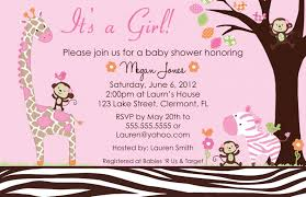 Baby Shower Invitation Card Top 14 Giraffe Baby Shower Invitations Template 2017 Thewhipper Com