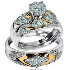 wedding rings trio sets for cheap wedding ring sets for him and cheap wedding corners