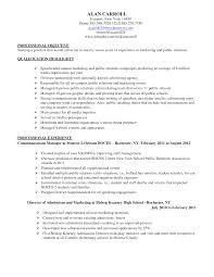 Resume Sample Quality Assurance Specialist by Marketing Specialist Resume Berathen Com