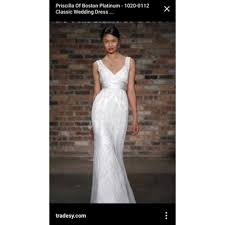 boston wedding dress priscilla of boston wedding dress tradesy