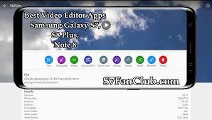 vidtrim pro apk vidtrim editor app apk for samsung galaxy s7 edge s8 plus