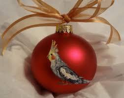 cockatiel ornament etsy