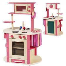 howa küche howa spielküche kinderküche aus holz rundum bespielbar natur pink