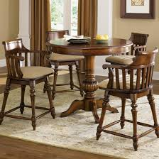 counter height dining table with swivel chairs counter height dining set with swivel chairs