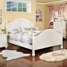 Cottage Style White Bedroom Furniture Furniture Of America Ophelia Cottage Style Solid Wood Full Size