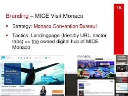 bureau monaco a digital marketing strategy monaco convention bureau mice sector