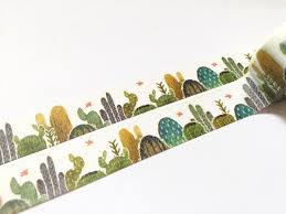 What Is Washi Tape Cactus Washi Tape T00100
