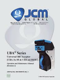 uba jcm service manual electrical connector banknote