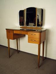 Vanity Tables With Mirror Mid Century Swedish Modern Dressing Table Vanity With Mirror