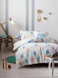 marie claire mini kids bedding quincey aqua quilt cover sets