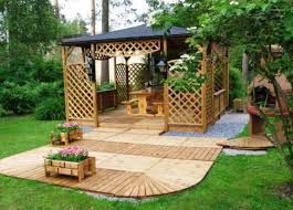 Beautiful Garden Design Ideas Wooden Pergolas And Gazebos - Backyard design ideas
