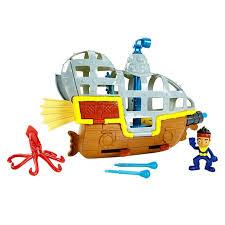 disney captain jake land pirates submarine bucky u0027s
