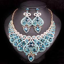 engagement jewelry sets aliexpress buy fashion bridal jewelry sets wedding