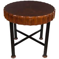 vintage french dining table impressive art deco center hall occasional table in the manner of