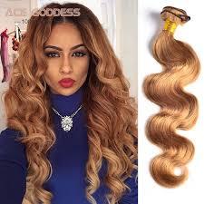 honey weave honey hair weave bundles color 27