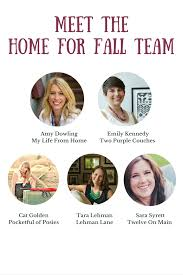 decorating home for fall home for the fall e book fall decorating ideas lehman lane
