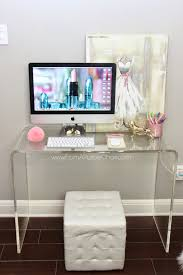 Room Office by Miss Liz Heart Beauty Room Office Update New Desk Decorate