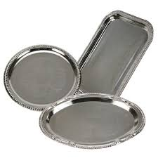 metal platters serving trays platters bowls rent today with g k event rentals