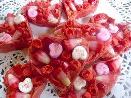heart shaped candy diary of a mad hausfrau heart shaped s candy bark
