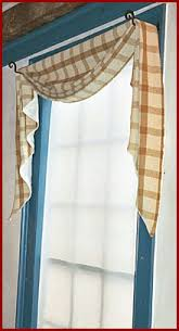 Lined Swag Curtains Village Weaver Fish Tail Swag And Rod Pocket Curtain